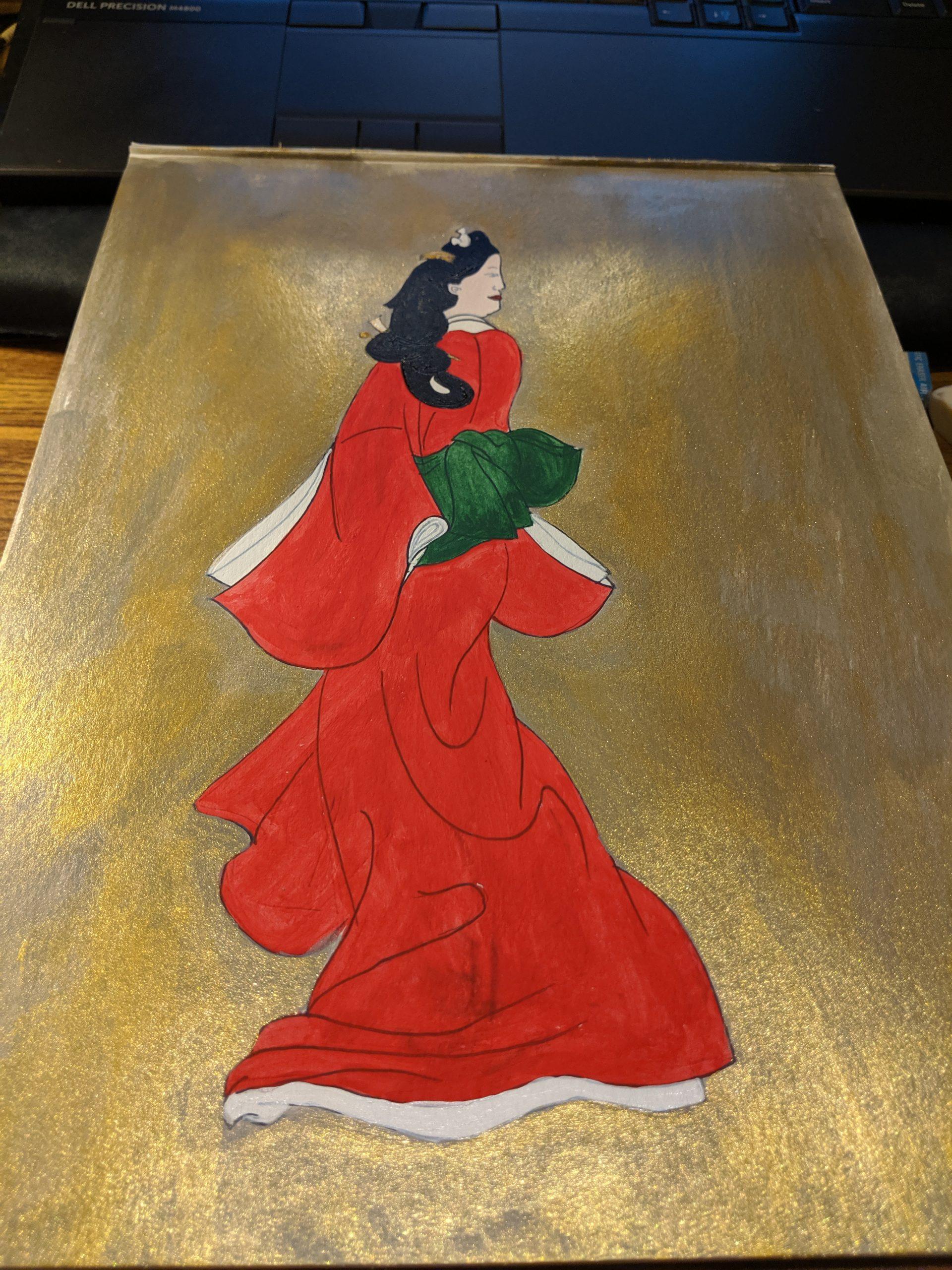 Beauty Looking Back Hishikawa Moronobu