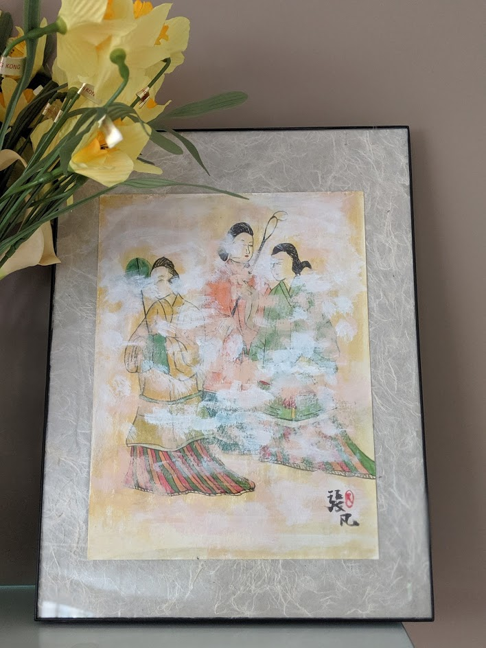 高松塚古坟壁画 by Fan Stanbrough