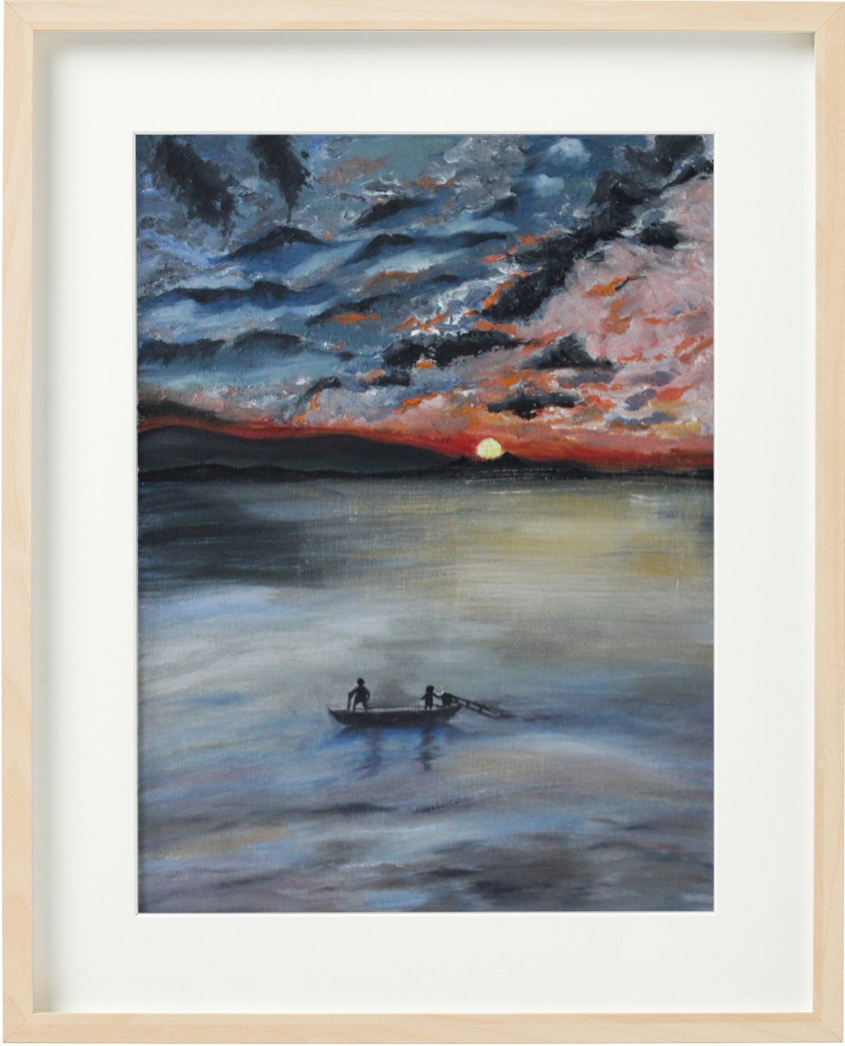 苏州太湖油画 by Fan Stanbrough