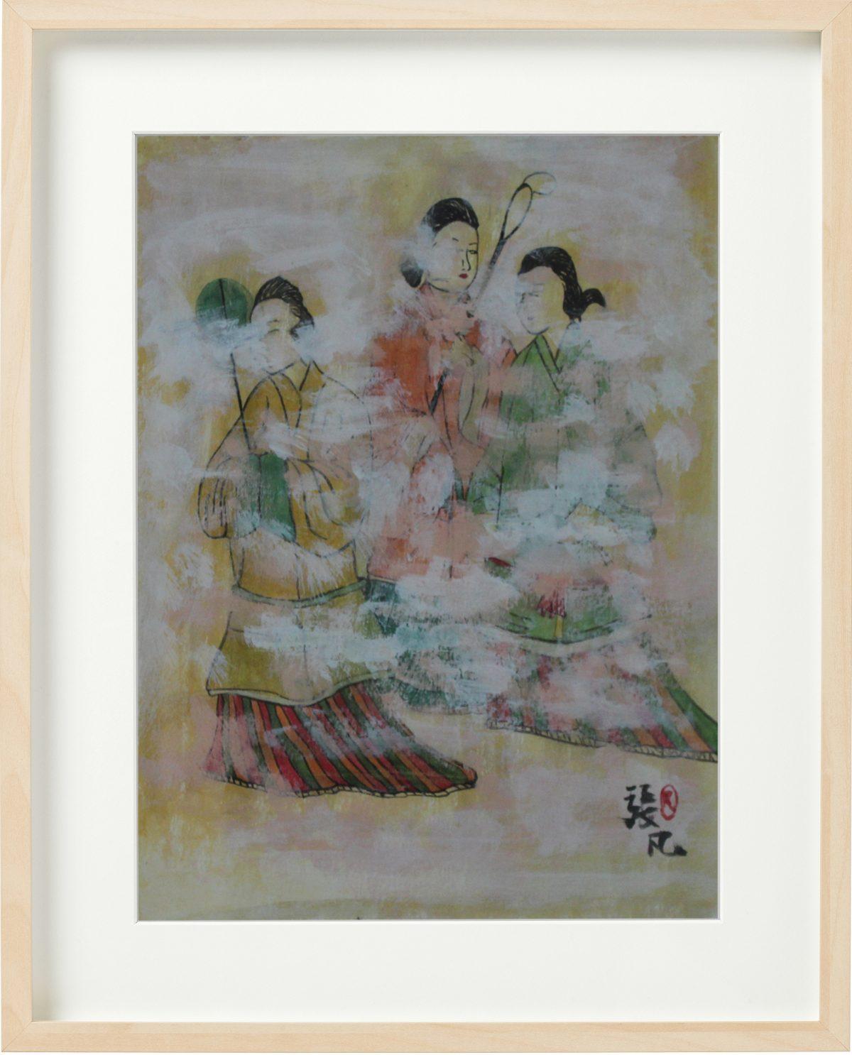 Takamatsuzuka Tomb Mural Painting
