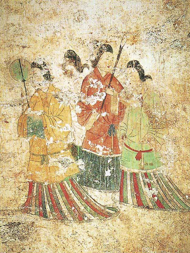高松塚古坟壁画