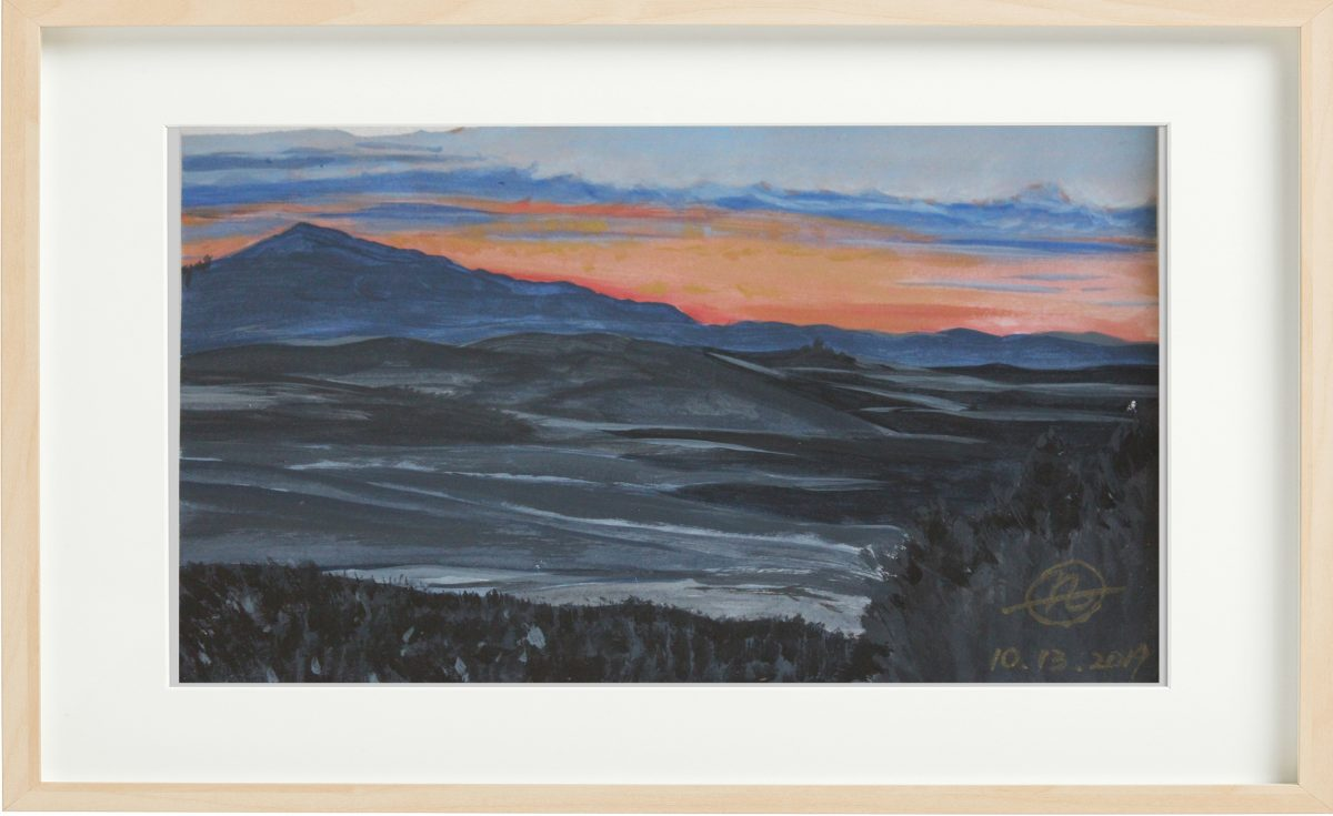 Sunset Mountains - Telluride, Colorado