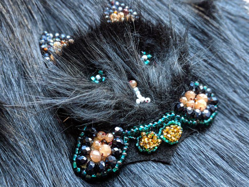 Beads Cat