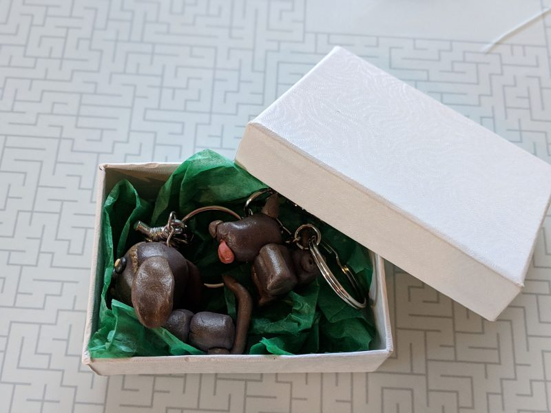 Polymer Clay Dog Gift