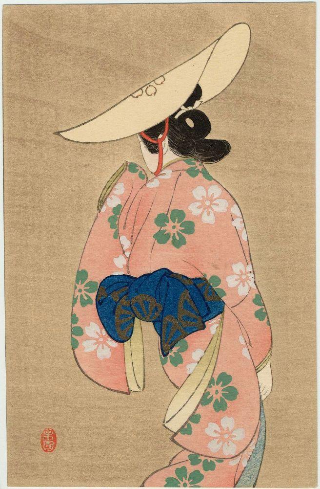 Female Dancer Uemura Shōen