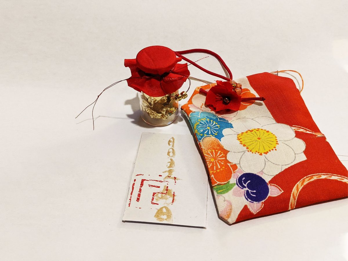 Japanese Omamori Amulet Charm by Fan Stanbrough