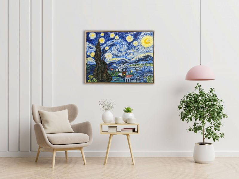 The Starry Night Reproduction by Fan Stanbrough